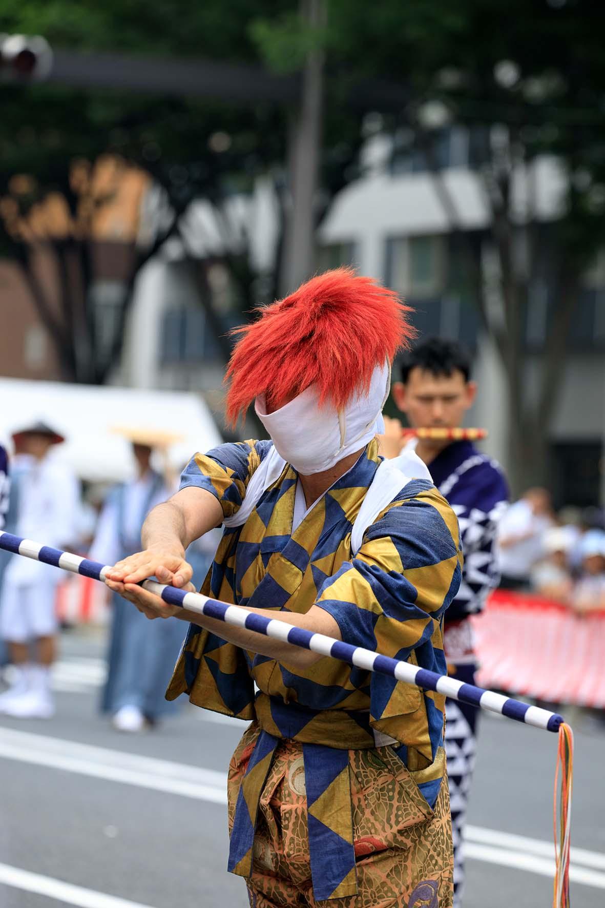 祇園祭:綾傘鉾(あやがさほこ)